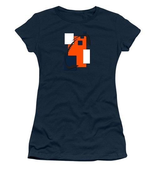Broncos Abstract Shirt Women's T-Shirt (Junior Cut) by Joe Hamilton