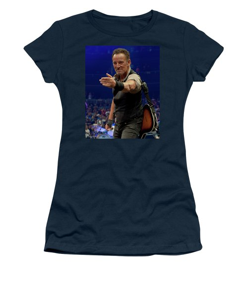 Bruce Springsteen. Pittsburgh, Sept 11, 2016 Women's T-Shirt (Athletic Fit)