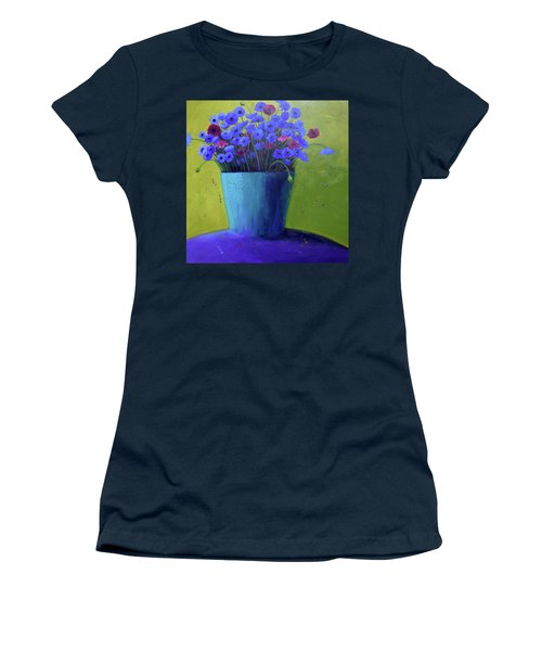 Bucket Of Blue Women's T-Shirt (Athletic Fit)
