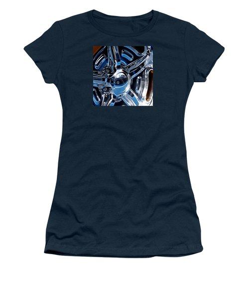 Budnik Wheel 01 Women's T-Shirt (Junior Cut) by Rick Piper Photography