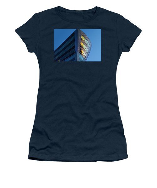 Building Floating In The Sky Women's T-Shirt