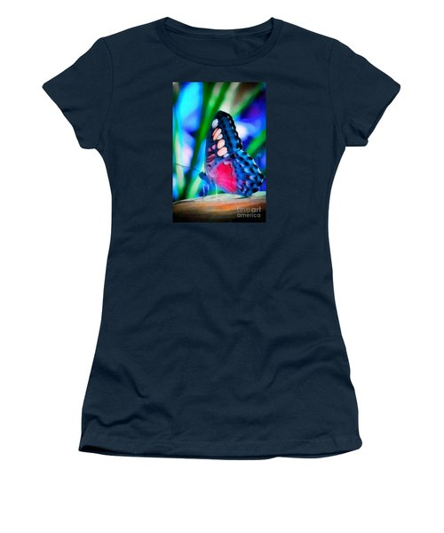 Butterfly Realistic Painting Women's T-Shirt