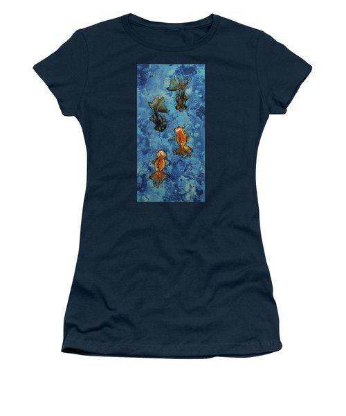 Butterfly Tail Goldfish Women's T-Shirt
