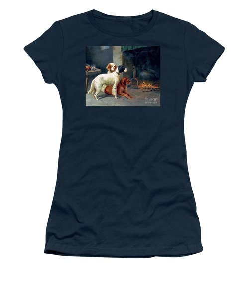 By The Fire Women's T-Shirt (Athletic Fit)