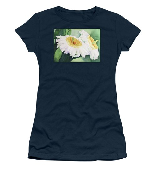 Cactus Flower Women's T-Shirt (Junior Cut) by Teresa Beyer