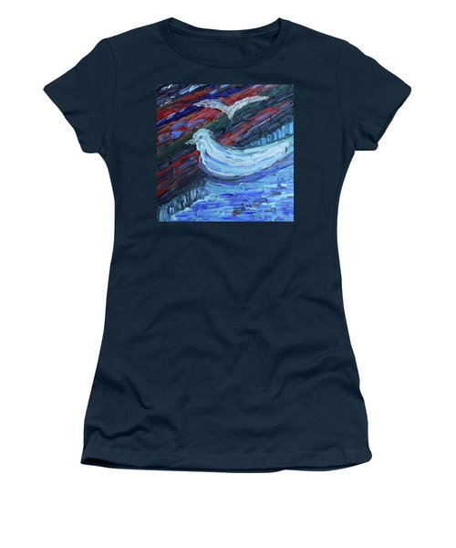 Calm Before The Storm Women's T-Shirt (Athletic Fit)