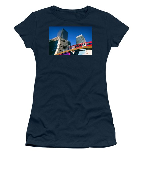 Canary Wharf Commute Women's T-Shirt (Athletic Fit)
