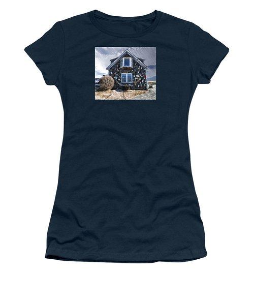 Cape Cod Christmas Bulbs Women's T-Shirt (Junior Cut) by Constantine Gregory