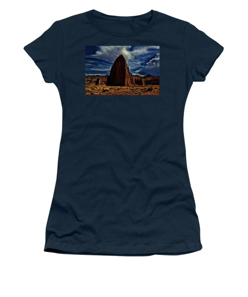 Capitol Reef Women's T-Shirt (Athletic Fit)