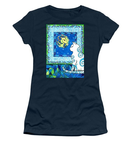 Capricorn Cat Zodiac Women's T-Shirt