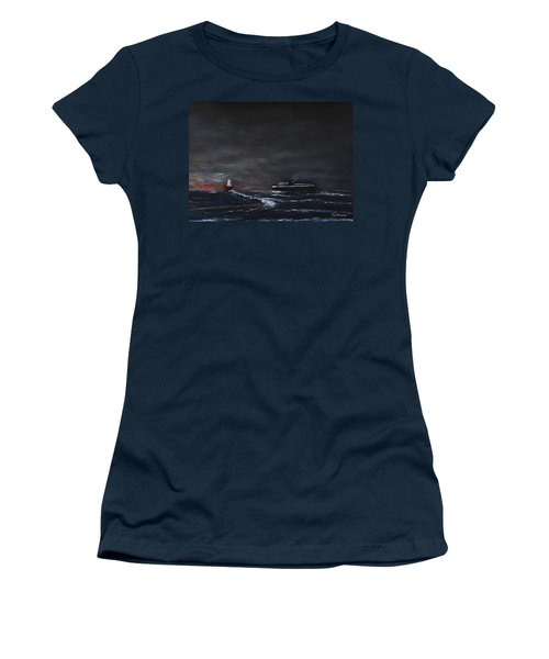 Car Ferry Badger November Crossing Women's T-Shirt