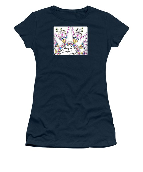 Caregiver Crown Of Hearts Women's T-Shirt