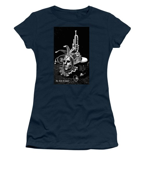 Women's T-Shirt (Athletic Fit) featuring the photograph Carnival Time by Elf Evans