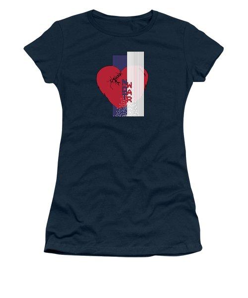 Cause Art Not War Transparent Women's T-Shirt