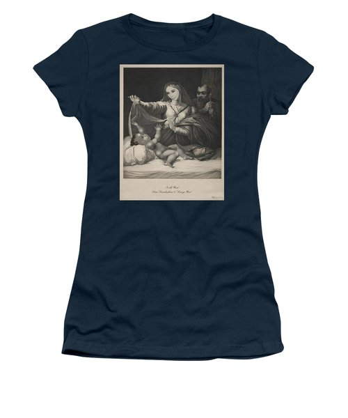 Celebrity Etchings - North Kim And Kanye Women's T-Shirt
