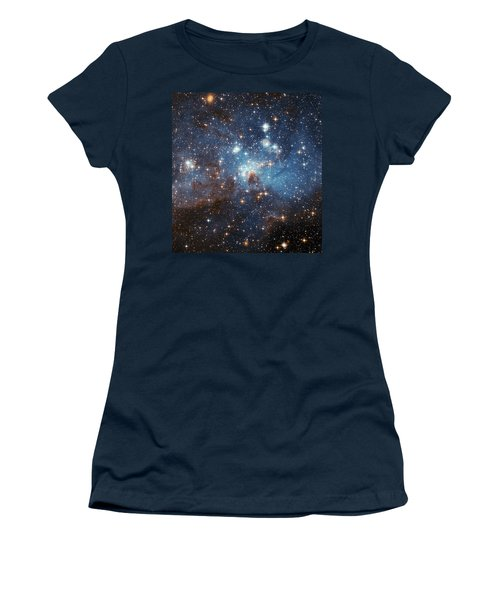 Women's T-Shirt (Junior Cut) featuring the photograph Celestial Season's Greetings From Hubble by Nasa