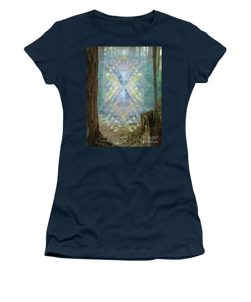 Chalice-tree Spirt In The Forest V2 Women's T-Shirt (Junior Cut) by Christopher Pringer
