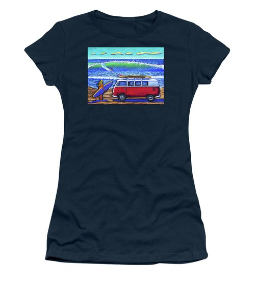 Checking Out The Waves Women's T-Shirt