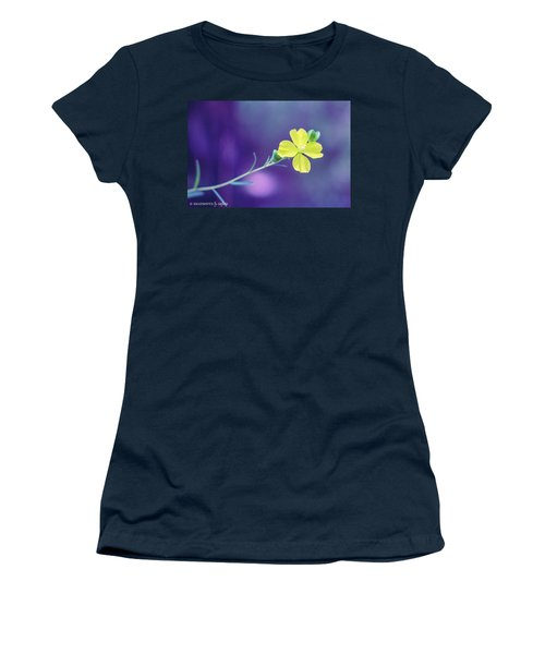 Cheer Up Buttercup Women's T-Shirt (Junior Cut) by Stefanie Silva