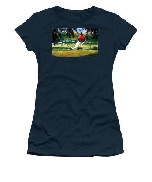 Cherry And Spoon Women's T-Shirt (Junior Cut) by Marilyn Jacobson