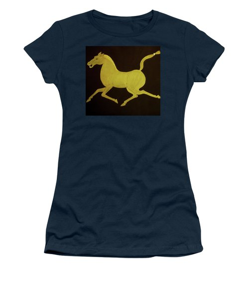 Chinese Horse Women's T-Shirt (Junior Cut) by Stephanie Moore