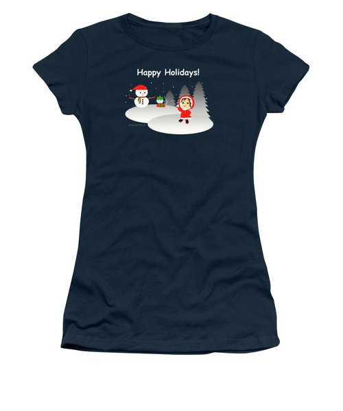 Christmas #6 And Text Women's T-Shirt