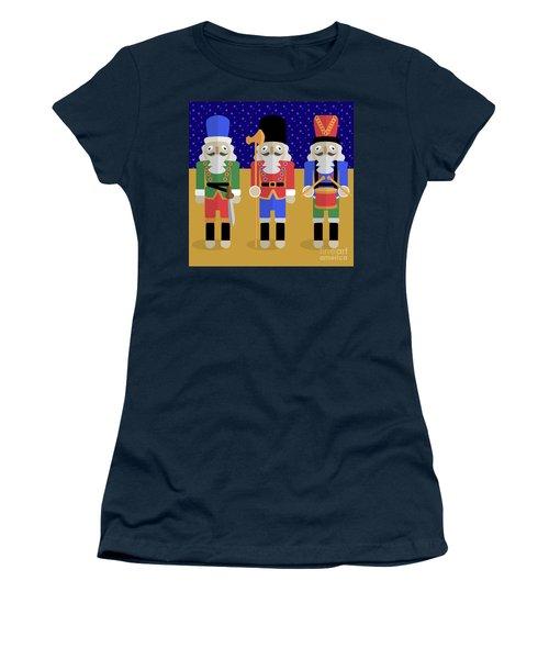 Christmas Nutcrackers  Women's T-Shirt