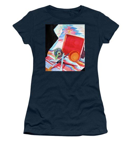 Circles, Squares And Shadows Women's T-Shirt