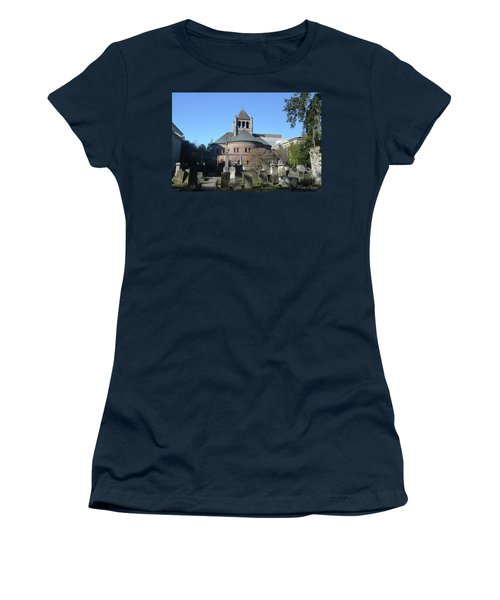 Circular Congregational Church Women's T-Shirt (Junior Cut) by Gordon Mooneyhan