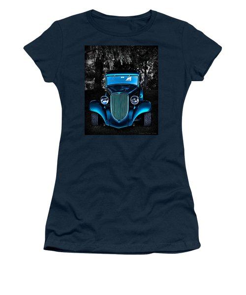 Classic Blue Women's T-Shirt (Athletic Fit)