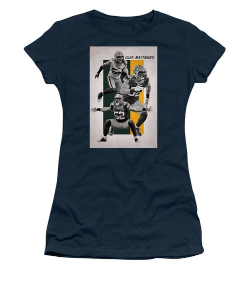 Clay Matthews Green Bay Packers Women's T-Shirt