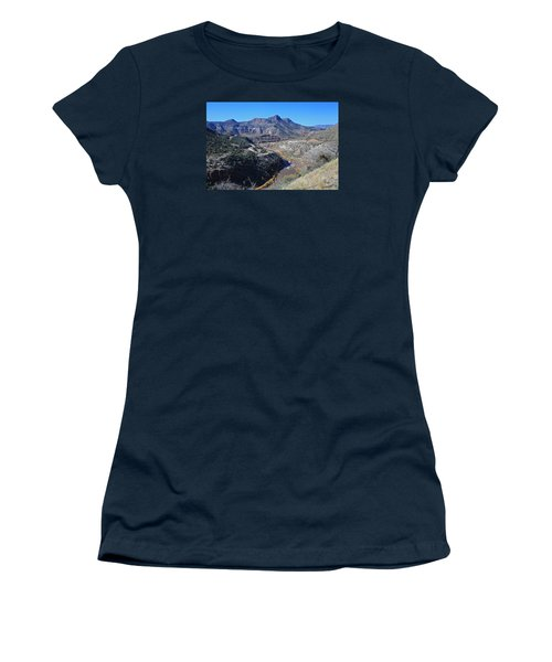 Clear And Rugged Women's T-Shirt (Junior Cut) by Gary Kaylor