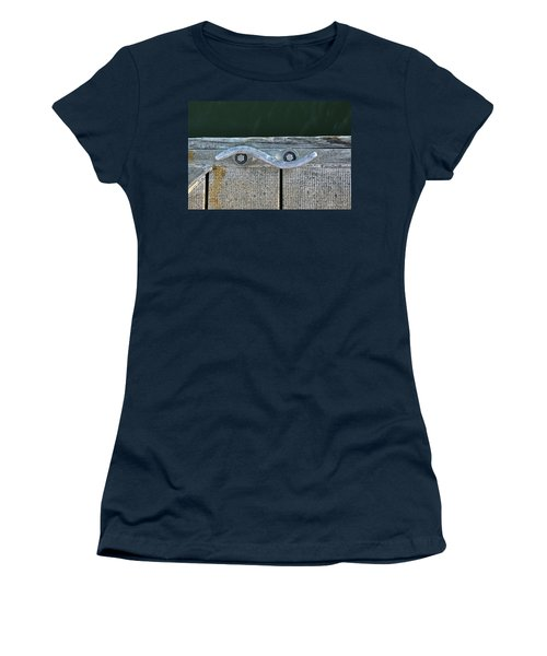 Cleat On A Dock Women's T-Shirt (Athletic Fit)