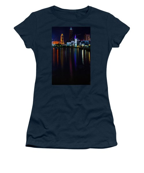 Cleveland Nightly Reflections Women's T-Shirt