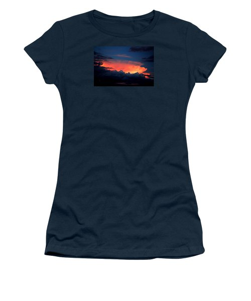 Clouds On Fire Women's T-Shirt (Athletic Fit)