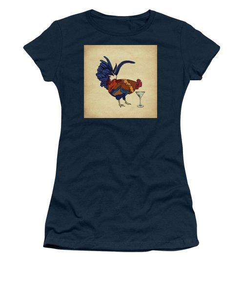 Cocktails Women's T-Shirt (Junior Cut) by Meg Shearer