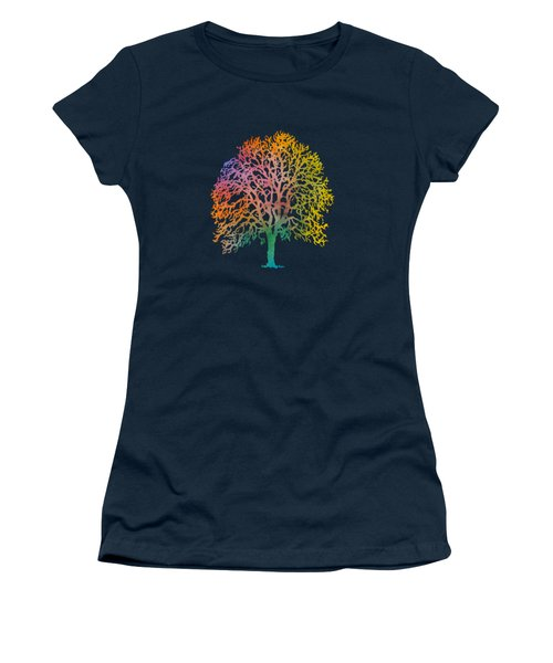 Color Abstract Painting Women's T-Shirt