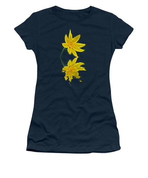 Colorado Wildflower Women's T-Shirt (Junior Cut) by Shane Bechler