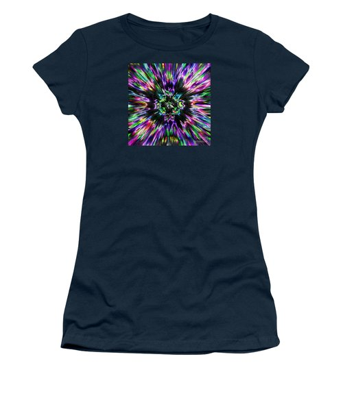 Colorful Tie Dye Abstract Women's T-Shirt