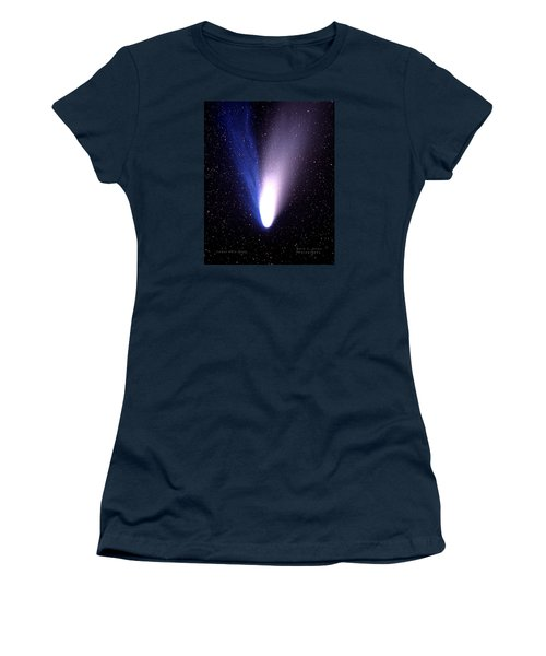 Comet Hale-bopp Women's T-Shirt (Athletic Fit)