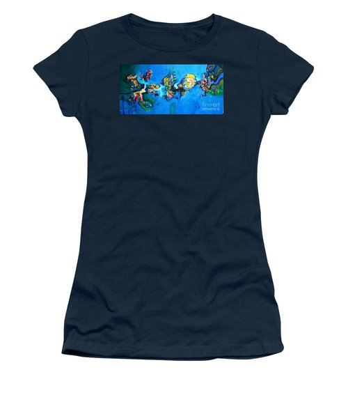 Contemplation Women's T-Shirt (Athletic Fit)