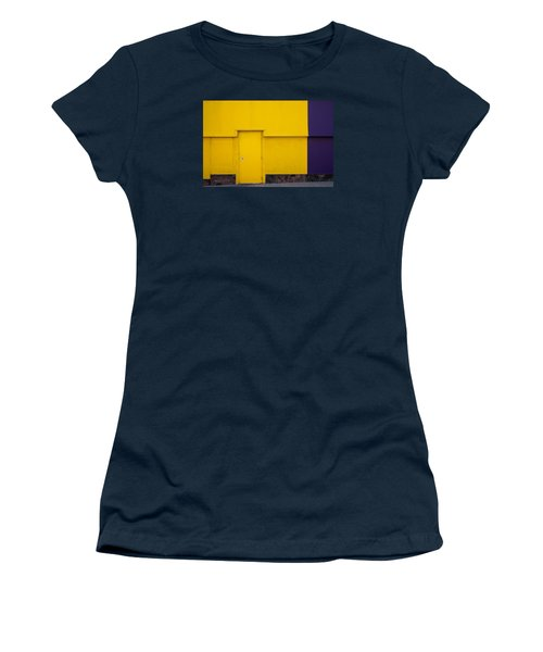Women's T-Shirt (Junior Cut) featuring the photograph Contrasts In Color by Monte Stevens