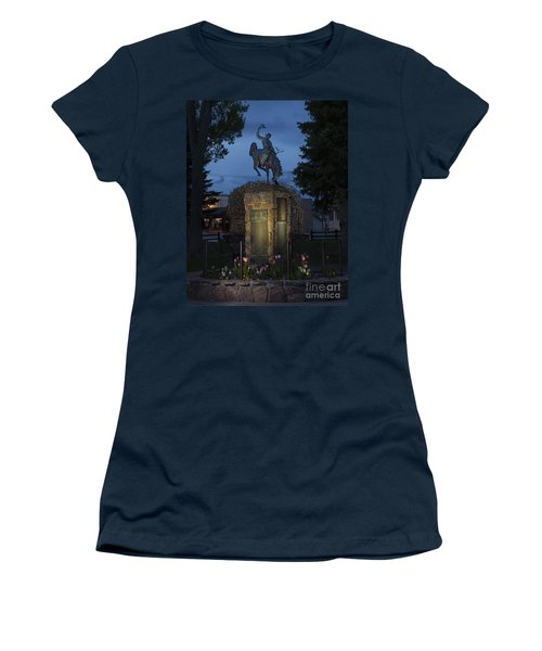 Coulter Memorial, Jackson, Wyoming Women's T-Shirt (Athletic Fit)