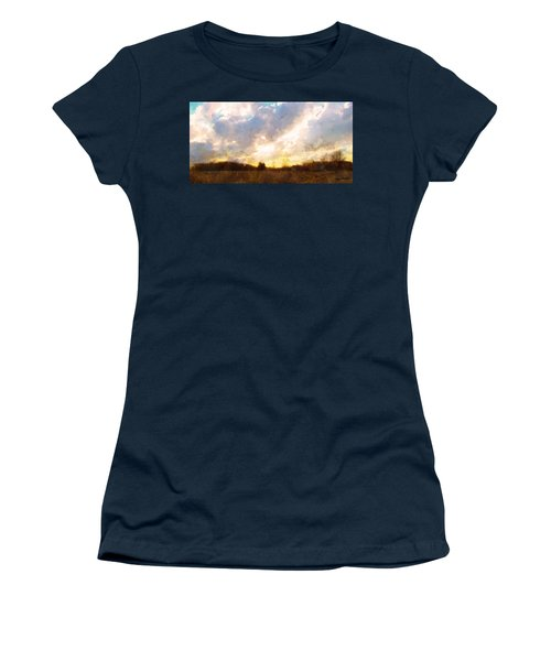 Country Sunset Women's T-Shirt (Athletic Fit)