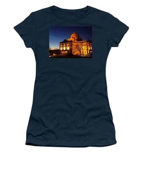 Courthouse At Night Women's T-Shirt