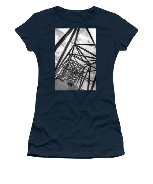 Crossing Through The Chesapeake Bay Bridge Women's T-Shirt