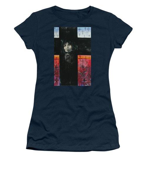 Crossroad Women's T-Shirt (Junior Cut) by Yelena Tylkina
