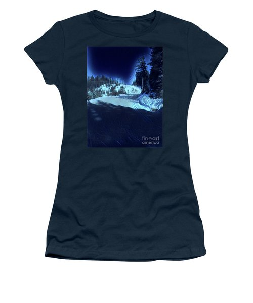 Cypress Bowl, W. Vancouver, Canada Women's T-Shirt (Athletic Fit)