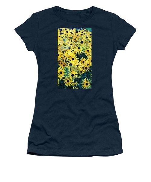Daisy Do Women's T-Shirt (Junior Cut) by Karl Reid