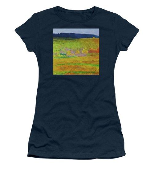 Women's T-Shirt featuring the painting Dakota Dream by Cris Fulton